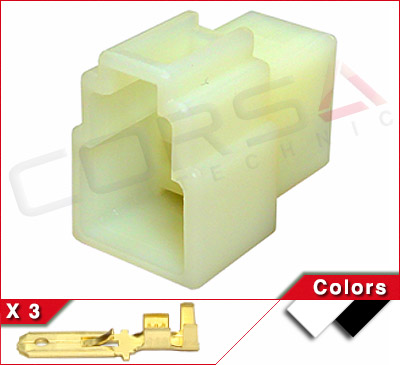 regulator rectifier connectors corsa technic. Black Bedroom Furniture Sets. Home Design Ideas