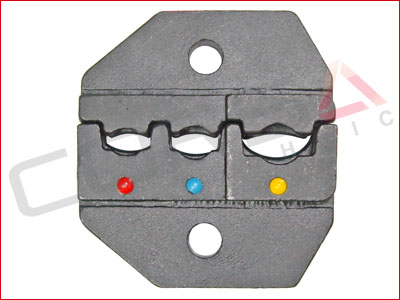 Red-Blue-Yellow Insulated Terminal Crimp Die