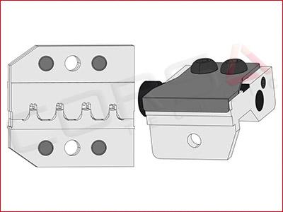 Rennsteig PEW 12 Die Set for JAE IL-AG5, MX34 socket terminals
