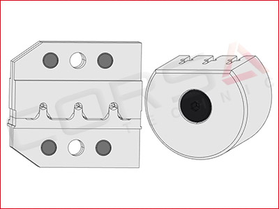 Rennsteig PEW 12 Die Set for Molex MX-150 matte sealed terminals