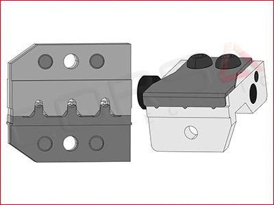 Rennsteig PEW 12 Die Set for AMP/TE Superseal 1.0 terminals