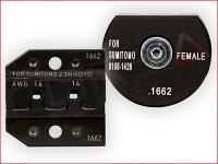 Rennsteig PEW 12 Die Set for Sumitomo 2.3mm (090) sealed socket terminal