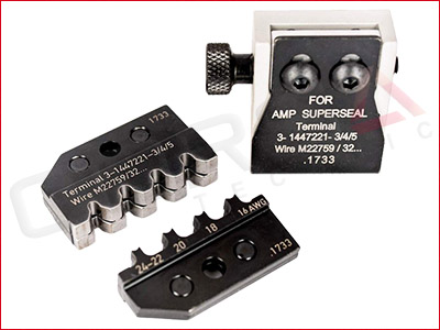 RACE SPEC™ PEW 12 Die Set for AMP/TE Superseal 1.0 terminals (/32, /16 wire)