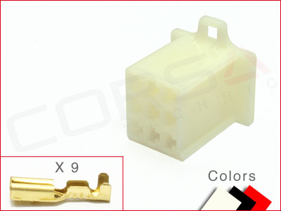 9-Way Receptacle Kit