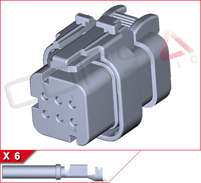 6-Way Kit (-2 Gray)