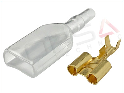 3.5mm Double Bullet Receptacle kit