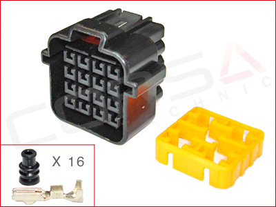 16-Way Receptacle Kit