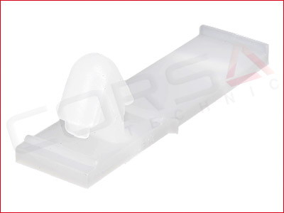 Harness Tape-On Clip (6 x 7mm hole)