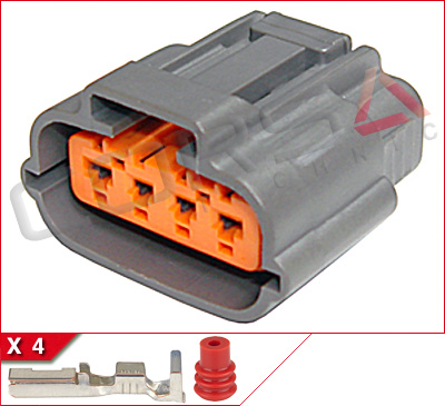 DL090 4S 2 ignition, coil on plug connectors corsa technic  at n-0.co