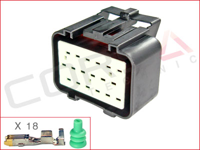 18-Way Receptacle Kit