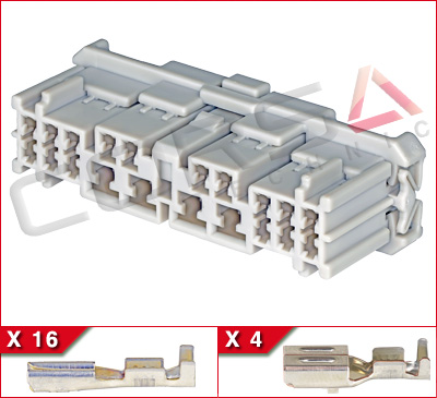 20-Way Hybrid Receptacle Kit