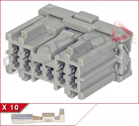 10-Way Receptacle Kit
