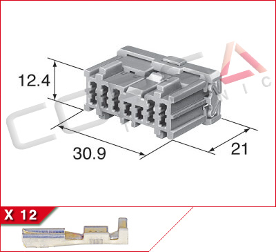 12-Way Receptacle Kit