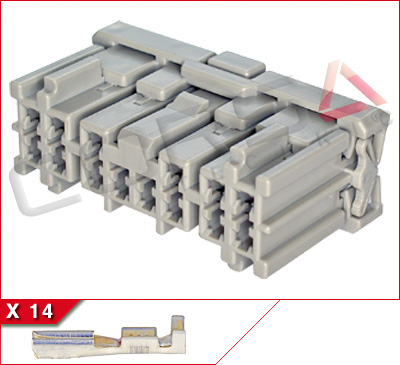 14-Way Receptacle Kit