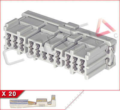 20-Way Receptacle Kit