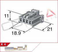 4-Way Receptacle Kit