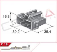 16-Way Plug Kit