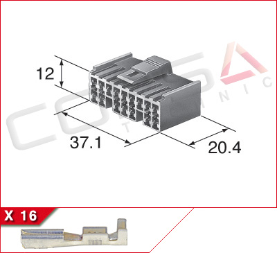 16-Way Receptacle Kit