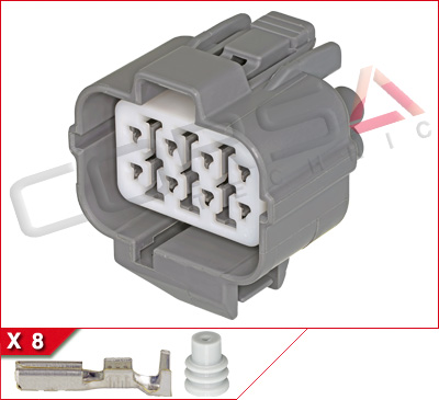 8-Way Receptacle Kit