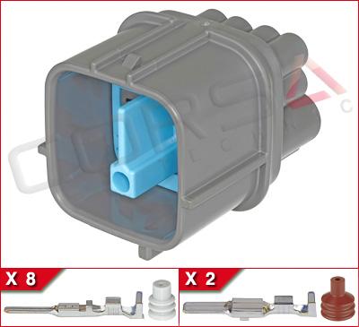 10-Way (8+2) Hybrid Plug Kit