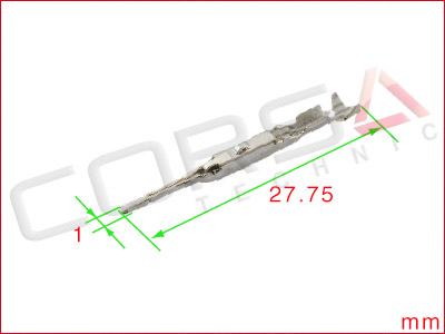 HX 040 Sealed Joint Connector Series Pin Contact