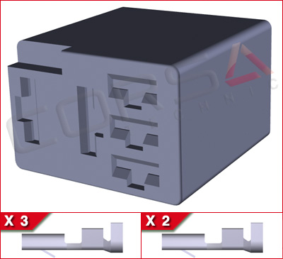 Micro ISO Relay Connector Kit