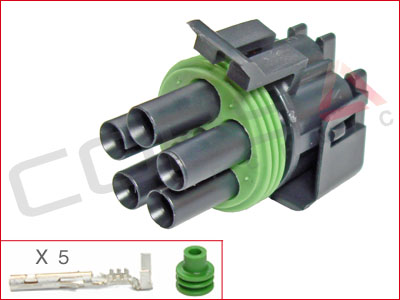 5-Way Receptacle Kit