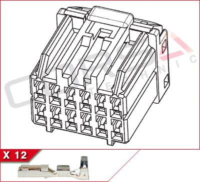 12-Way Kit, 040 size