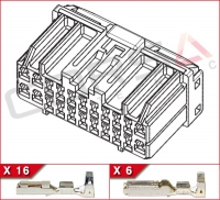 22-Way (16+6) Hybrid Kit