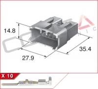 10-Way Plug Kit