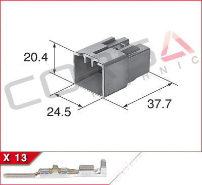 13-Way Plug Kit