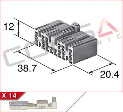 14-Way Receptacle Kit