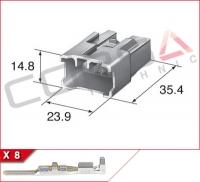 8-Way Plug Kit