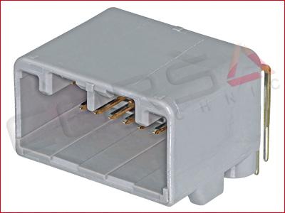 16-Way PCB Header - Angled Pin