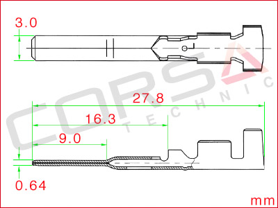 PA Series Pin Contact
