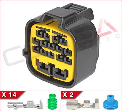 16-Way (14+2) Hybrid Kit