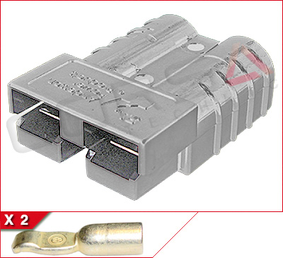 SB 50 External Power Connector - Gray