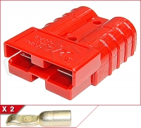 SB 50 External Power Connector - Red