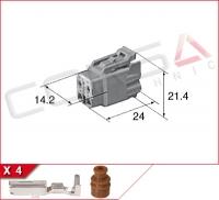4-Way Receptacle Kit