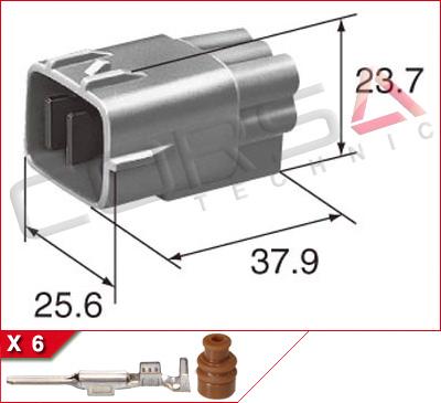 6-Way Plug Kit