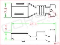 YESC KAIZEN 6.3 Unsealed Socket Terminal